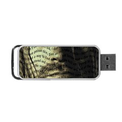 Kurt Cobain Portable Usb Flash (one Side) by Valentinaart