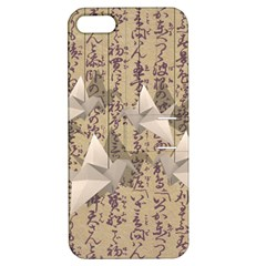 Paper Cranes Apple Iphone 5 Hardshell Case With Stand