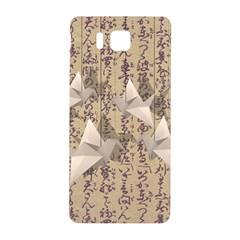 Paper Cranes Samsung Galaxy Alpha Hardshell Back Case by Valentinaart