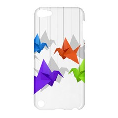 Paper Cranes Apple Ipod Touch 5 Hardshell Case by Valentinaart