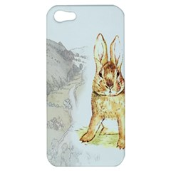 Rabbit  Apple Iphone 5 Hardshell Case by Valentinaart