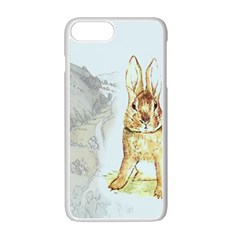 Rabbit  Apple Iphone 7 Plus White Seamless Case by Valentinaart