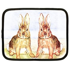 Rabbits  Netbook Case (xxl)