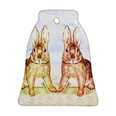 Rabbits  Ornament (bell)