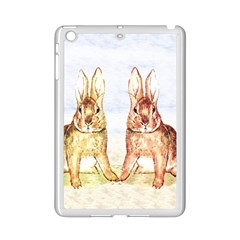 Rabbits  Ipad Mini 2 Enamel Coated Cases by Valentinaart