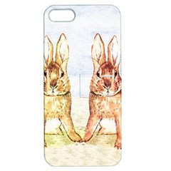Rabbits  Apple Iphone 5 Hardshell Case With Stand