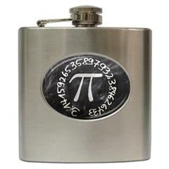 Pi Hip Flask (6 Oz) by Valentinaart