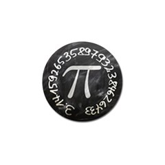 Pi Golf Ball Marker (4 Pack) by Valentinaart