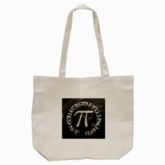 Pi Tote Bag (cream) by Valentinaart