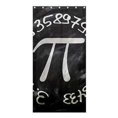 Pi Shower Curtain 36  X 72  (stall)  by Valentinaart