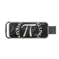 Pi Portable Usb Flash (two Sides) by Valentinaart
