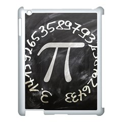Pi Apple Ipad 3/4 Case (white) by Valentinaart