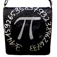 Pi Flap Messenger Bag (s) by Valentinaart