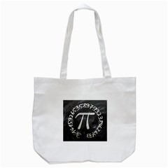 Pi Tote Bag (white) by Valentinaart