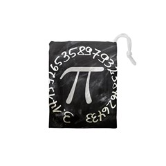 Pi Drawstring Pouches (xs)  by Valentinaart