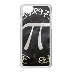 Pi Apple Iphone 7 Seamless Case (white) by Valentinaart