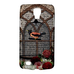 Vintage Bird In The Cage Galaxy S4 Active by Valentinaart