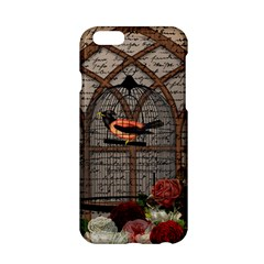 Vintage Bird In The Cage Apple Iphone 6/6s Hardshell Case by Valentinaart