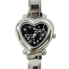 School Board  Heart Italian Charm Watch by Valentinaart