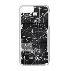 School Board  Apple Iphone 7 Plus White Seamless Case by Valentinaart