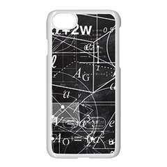 School Board  Apple Iphone 7 Seamless Case (white) by Valentinaart