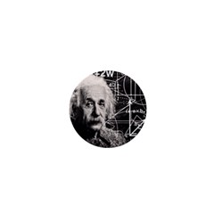 Albert Einstein 1  Mini Magnets by Valentinaart
