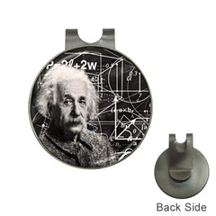 Albert Einstein Hat Clips With Golf Markers by Valentinaart