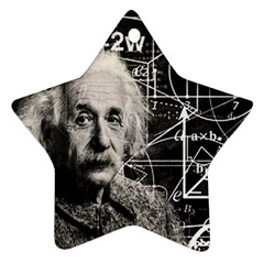 Albert Einstein Star Ornament (two Sides) by Valentinaart
