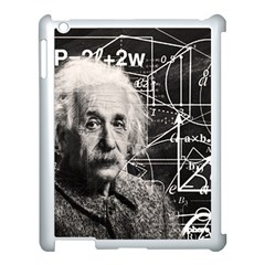 Albert Einstein Apple Ipad 3/4 Case (white) by Valentinaart