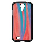 Pattern Samsung Galaxy S4 I9500/ I9505 Case (Black) Front