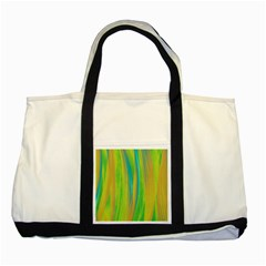 Pattern Two Tone Tote Bag by Valentinaart