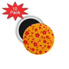 Floral Pattern 1 75  Magnets (10 Pack)