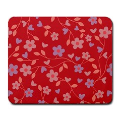 Floral pattern Large Mousepads