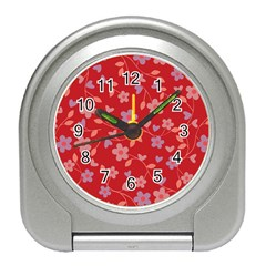 Floral pattern Travel Alarm Clocks