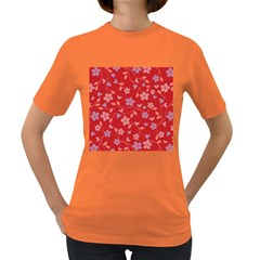 Floral pattern Women s Dark T-Shirt