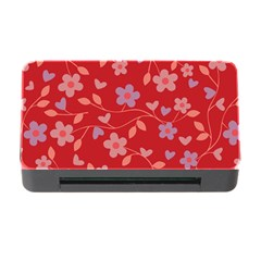Floral pattern Memory Card Reader with CF