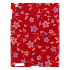 Floral pattern Apple iPad 3/4 Hardshell Case