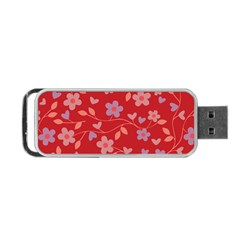 Floral pattern Portable USB Flash (One Side)