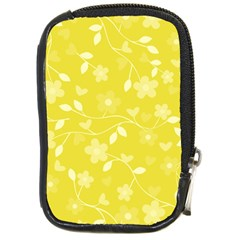 Floral Pattern Compact Camera Cases by Valentinaart