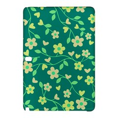 Floral Pattern Samsung Galaxy Tab Pro 12 2 Hardshell Case by Valentinaart