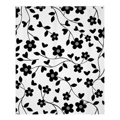 Floral Pattern Shower Curtain 60  X 72  (medium)  by Valentinaart