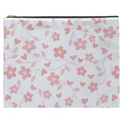Floral Pattern Cosmetic Bag (xxxl)