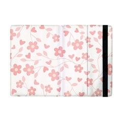 Floral Pattern Apple Ipad Mini Flip Case
