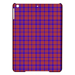 Pattern Plaid Geometric Red Blue Ipad Air Hardshell Cases by Simbadda