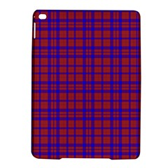 Pattern Plaid Geometric Red Blue Ipad Air 2 Hardshell Cases by Simbadda