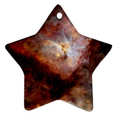 Carina Nebula Star Ornament (two Sides) by SpaceShop