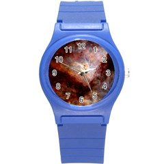 Carina Nebula Round Plastic Sport Watch (s) by SpaceShop