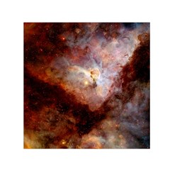 Carina Nebula Small Satin Scarf (square) by SpaceShop