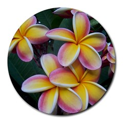 Premier Mix Flower Round Mousepads by alohaA