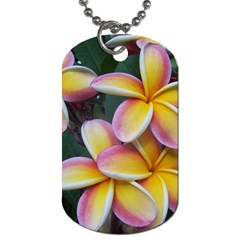 Premier Mix Flower Dog Tag (two Sides) by alohaA